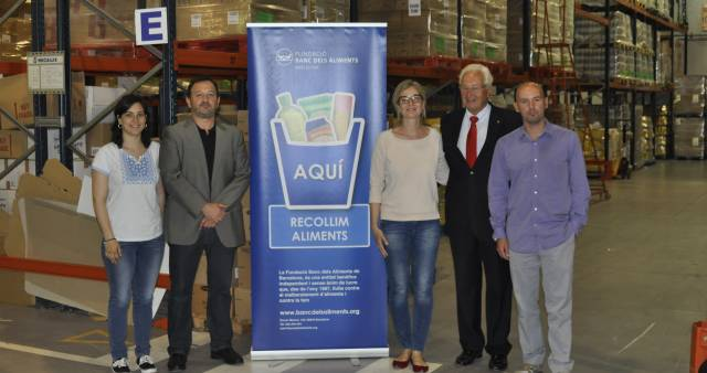 The Food Bank and Tradebe together with a zero waste objective